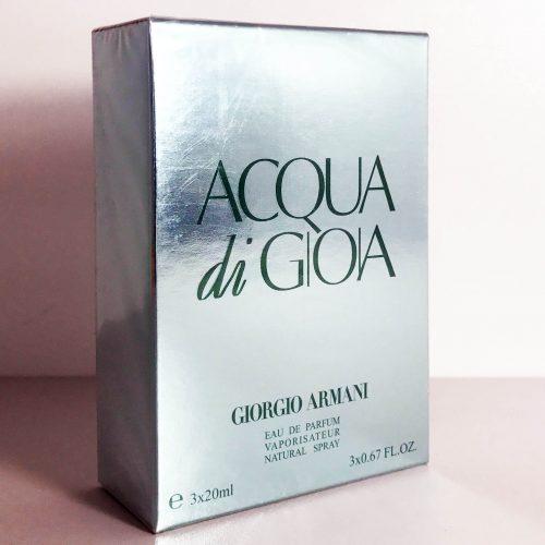 3x20ml Armani Acqua di Gioia