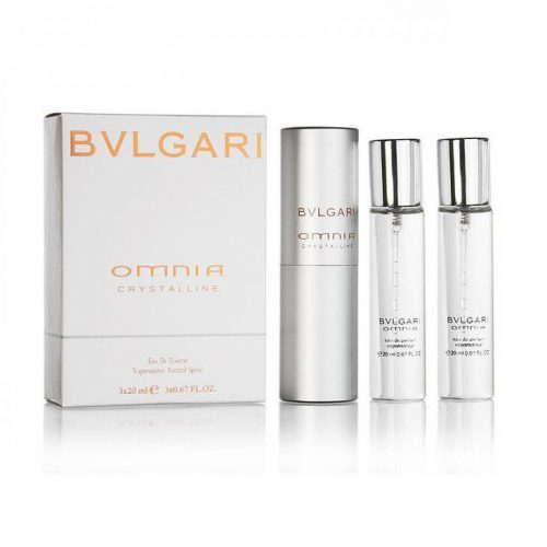 3x20ml Bvlgari Omnia Crystalline