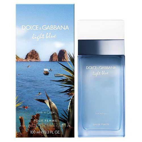 D&G Light Blue Love in Capri 100ml