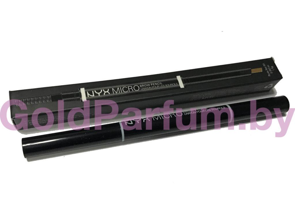 карандаш для бровей nyx micro