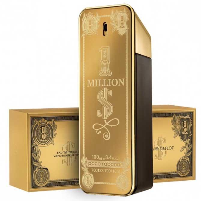 Paco Rabanne 1 Million 100ml Gold Parfum